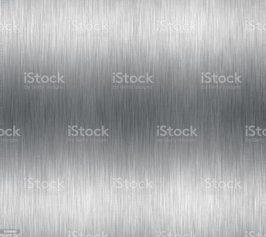 Aluminum surface stock photo