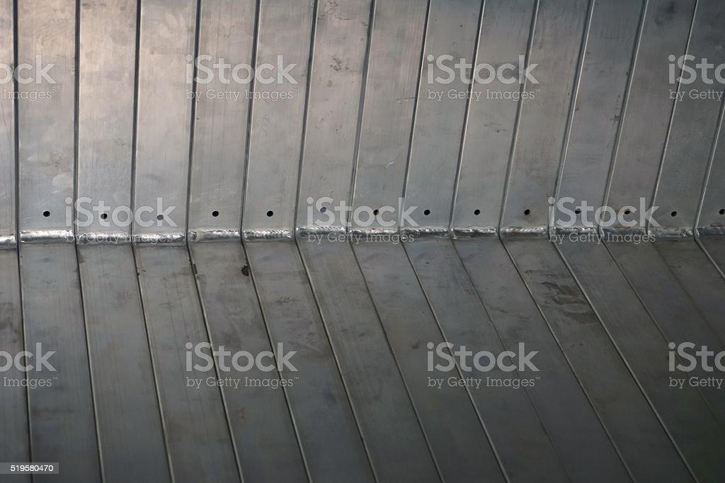 aluminum texture background stock photo