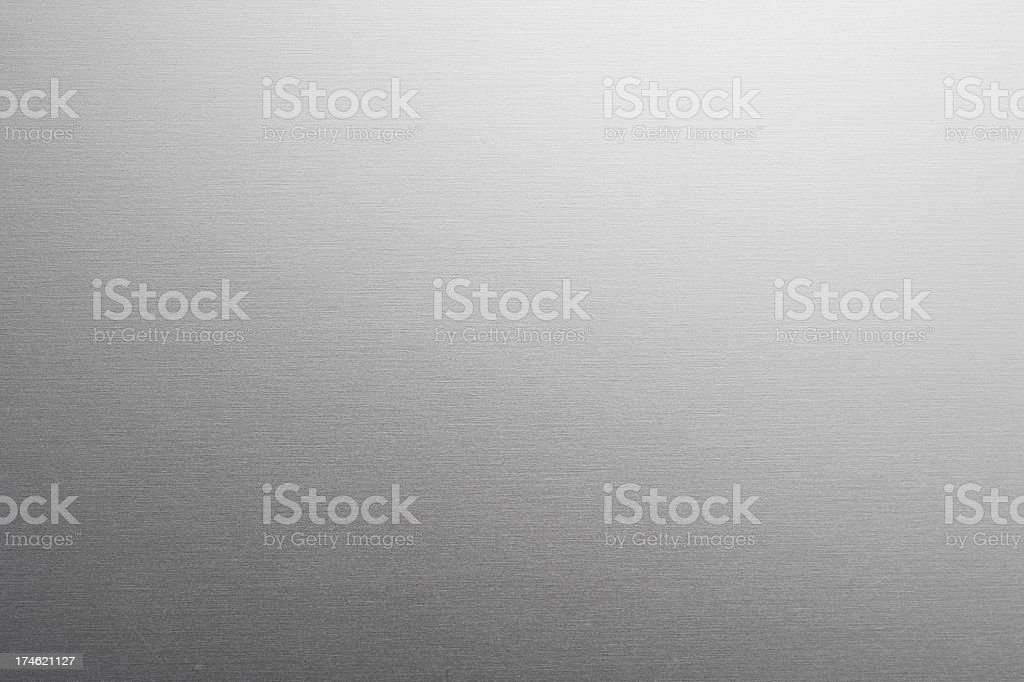 Aluminum texture gradient background royalty-free stock photo
