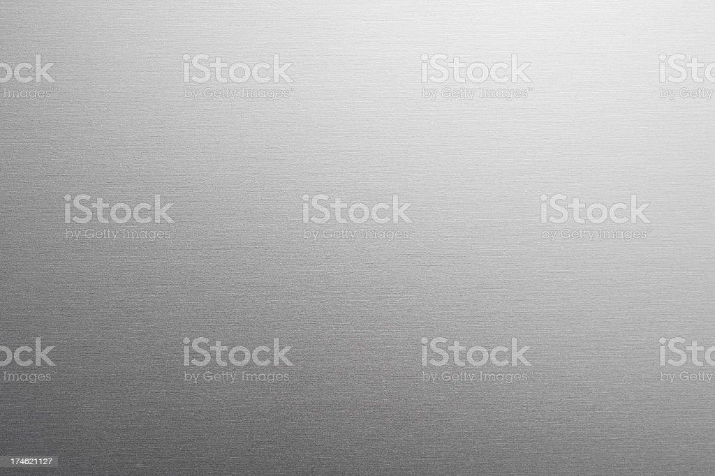 Aluminum texture gradient background stock photo