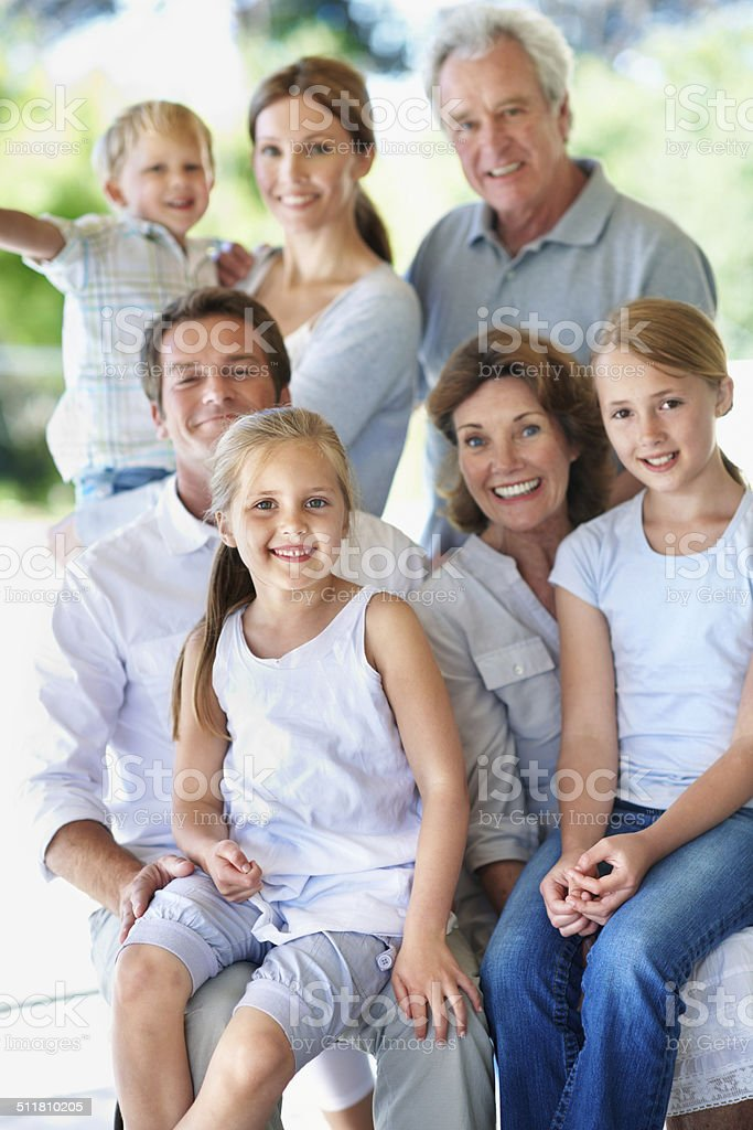 Always a great time when they get together stock photo