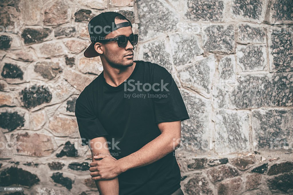 Always cool and trendy. stock photo