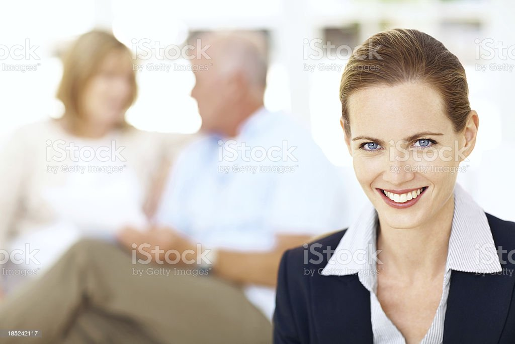 I always do the best for my clients royalty-free stock photo