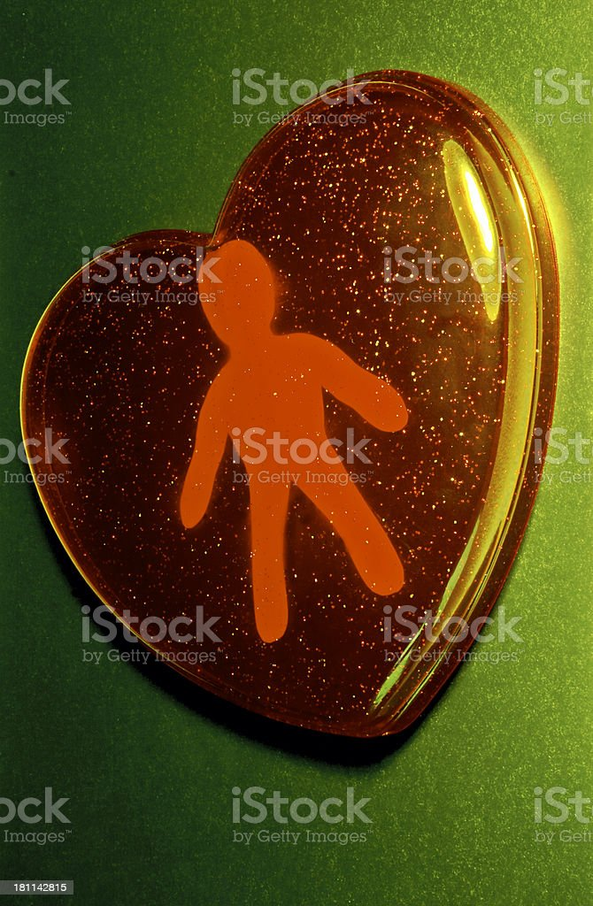 Always in my heart royalty-free stock photo