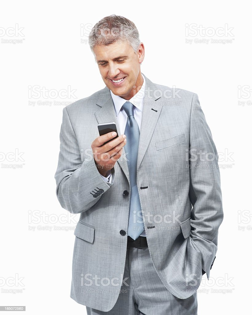 Always in touch - Business Success royalty-free stock photo