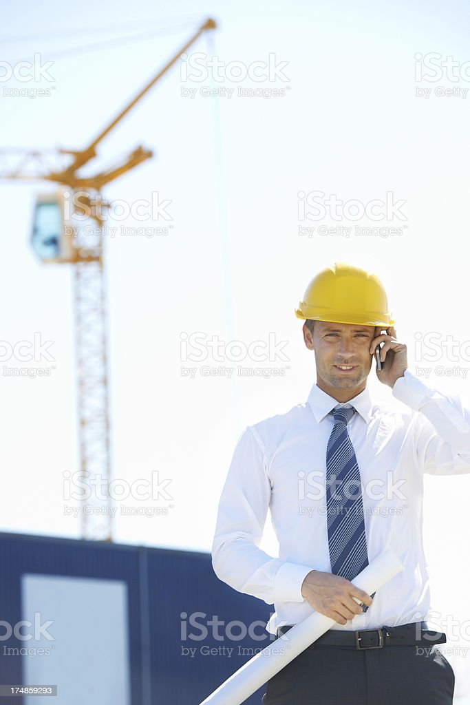 Always on call royalty-free stock photo