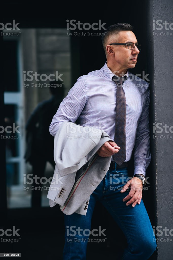Always ready for a challenge stock photo