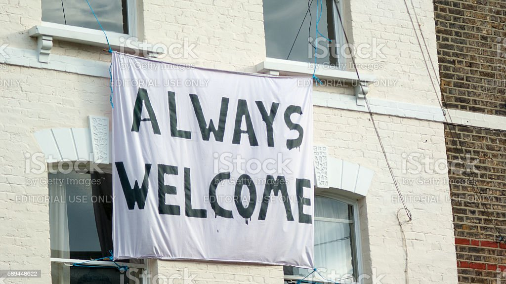 Always Welcome stock photo