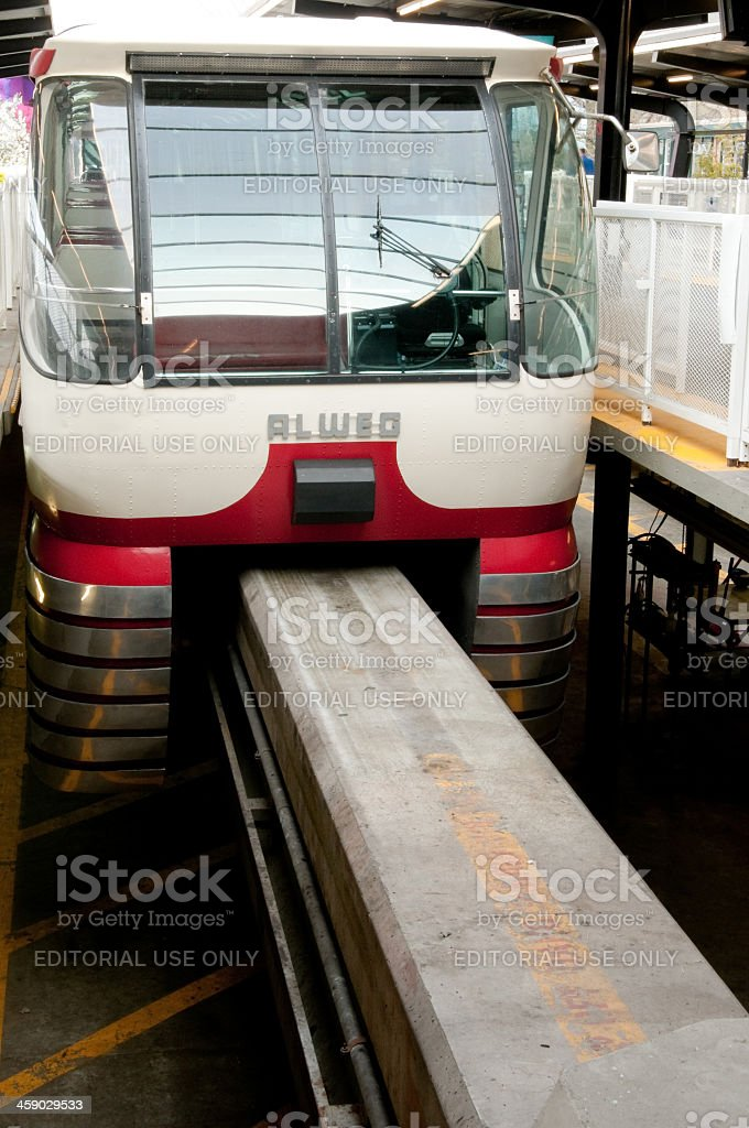 Alweg Monorail royalty-free stock photo
