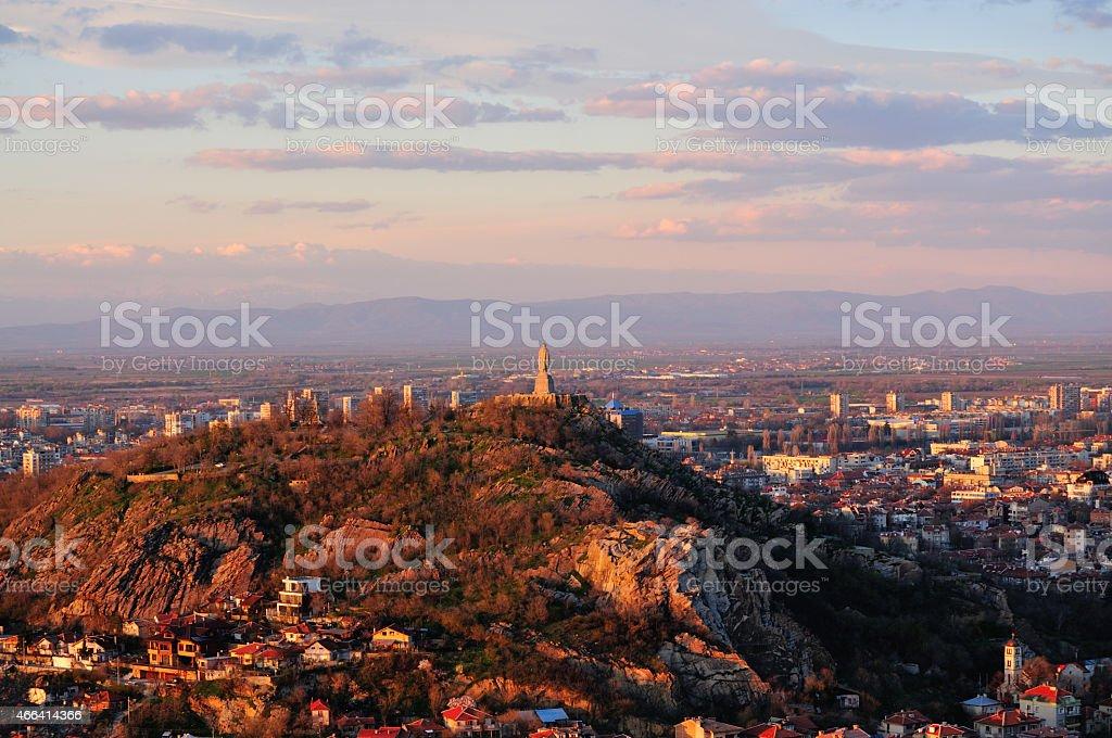 Alyosha Monument, Plovdiv stock photo