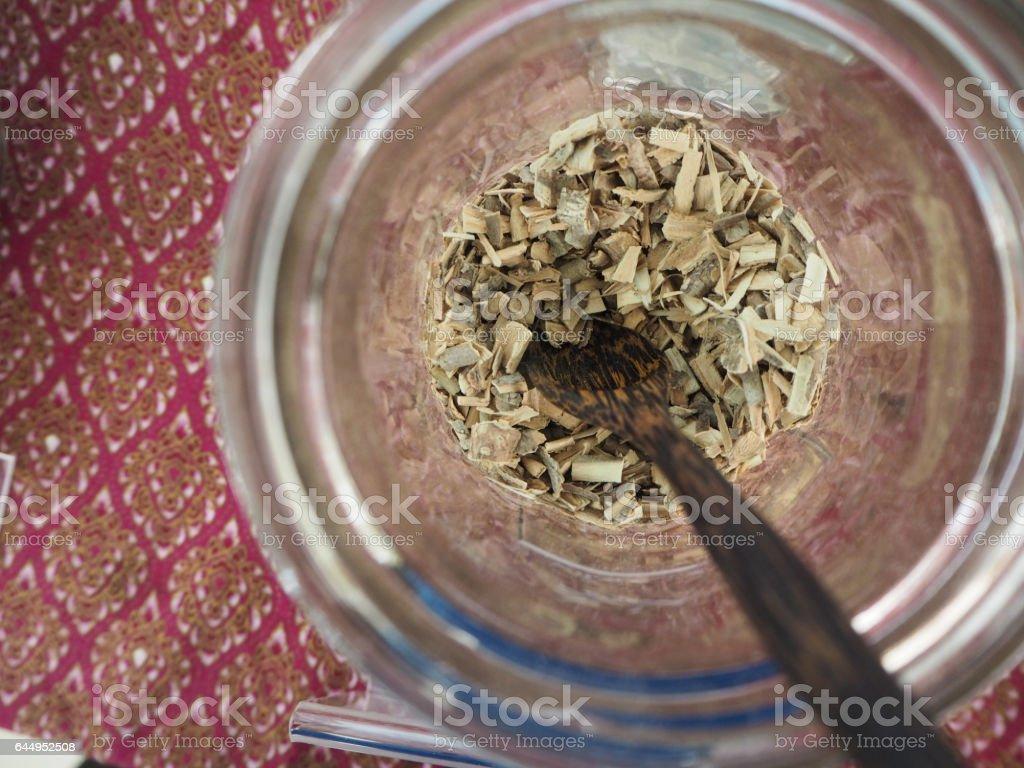Alyxia reinwardtiiBlume var, Thai herb stock photo