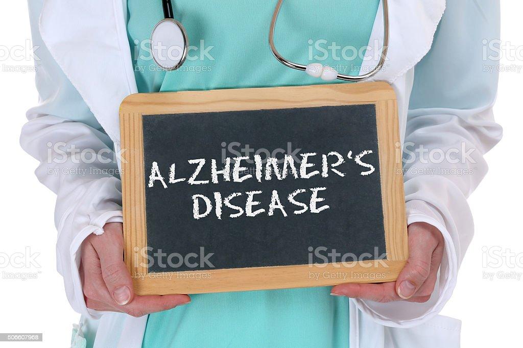 Alzheimers disease Alzheimer Alzheimer's ill illness healthy health stock photo