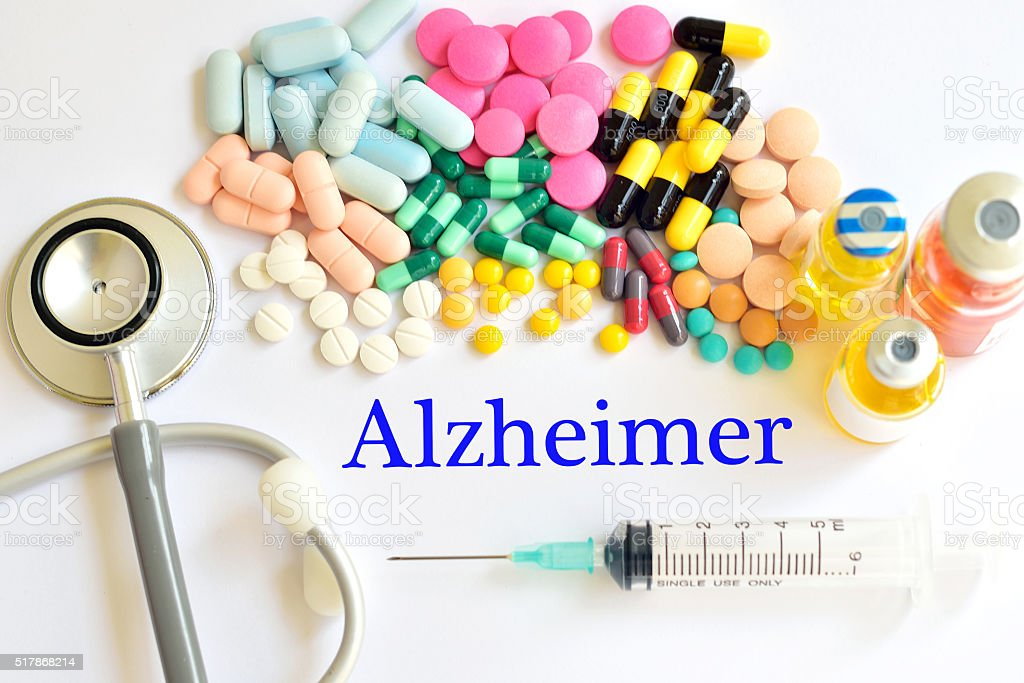 Alzheimer's disease stock photo