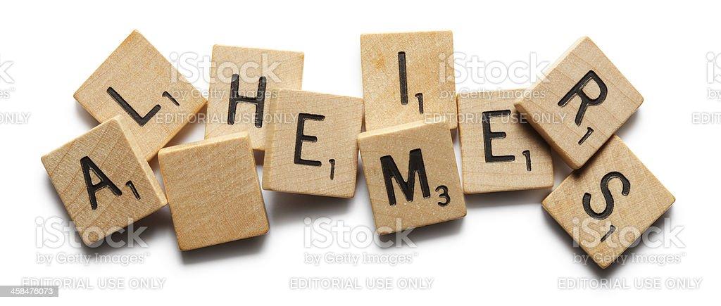 Alzheimer's stock photo