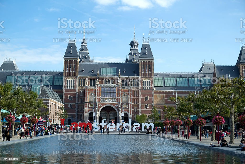 I Am Amsterdam stock photo