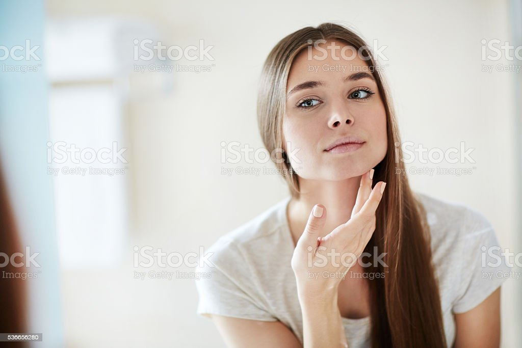 I am beautiful stock photo