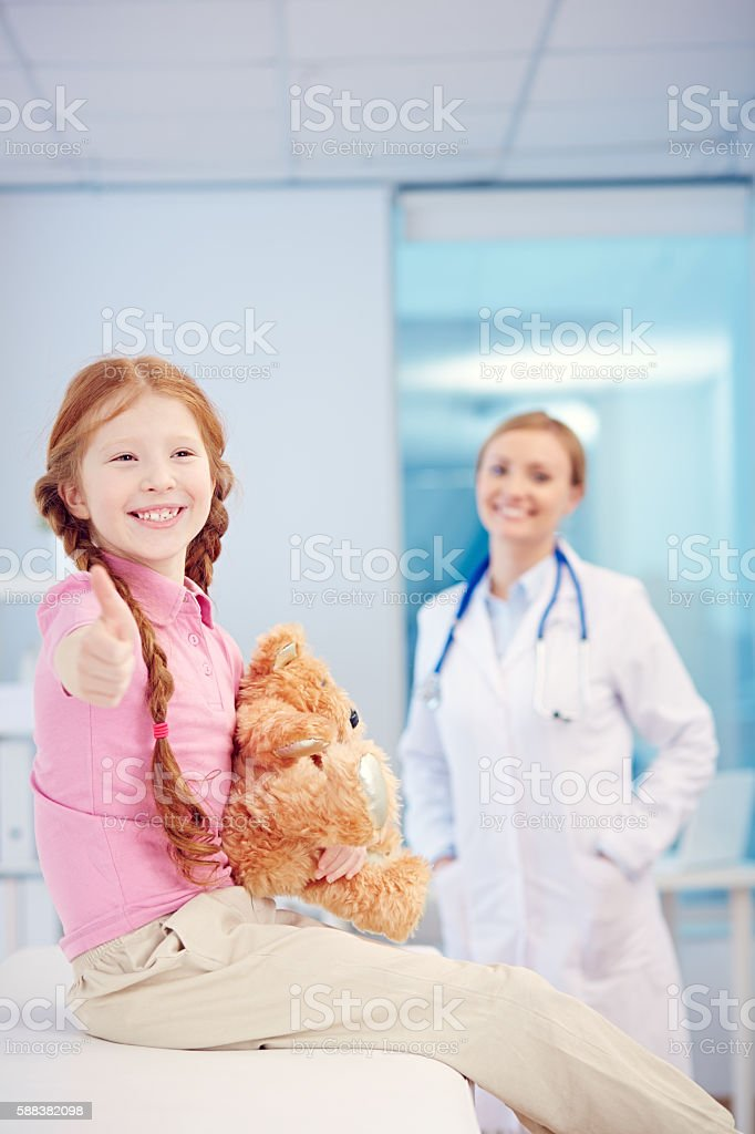 I am healthy now stock photo