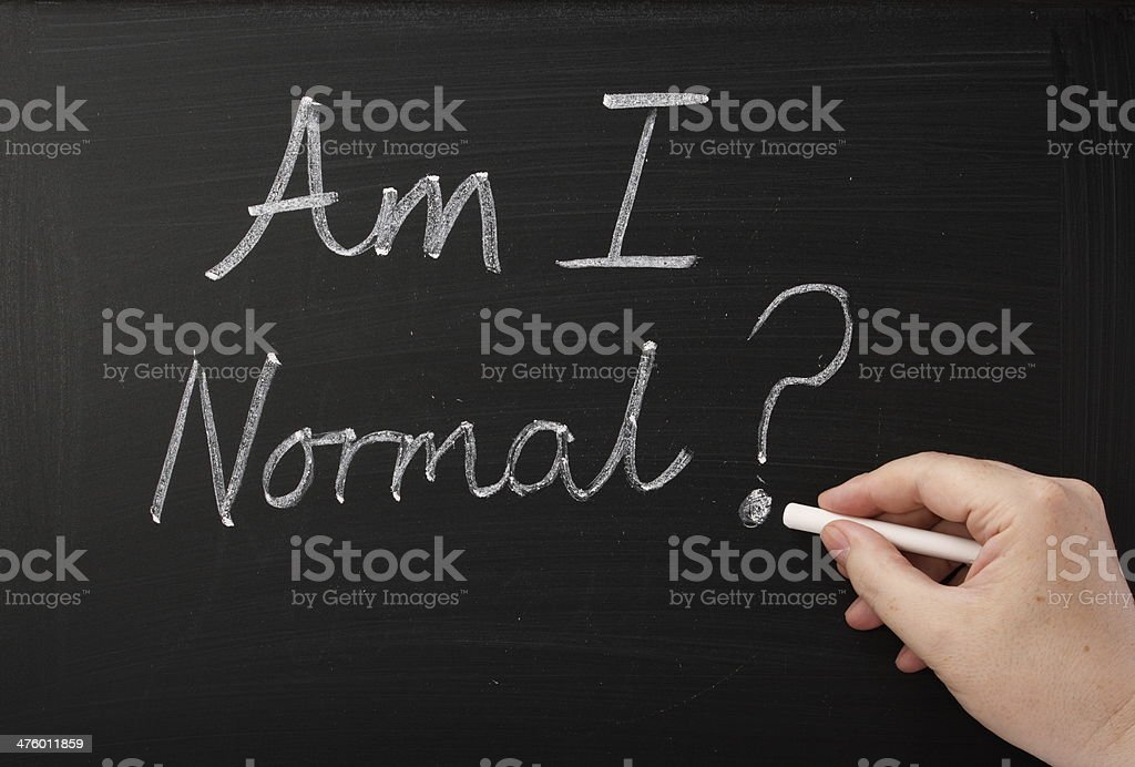 Am I Normal? royalty-free stock photo