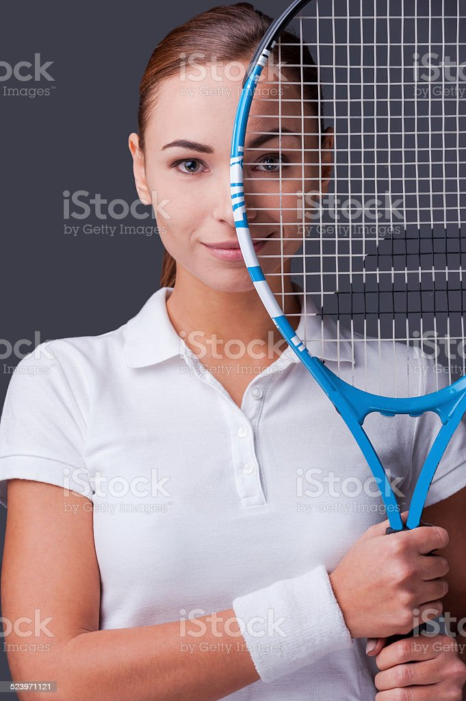 I am in game. stock photo