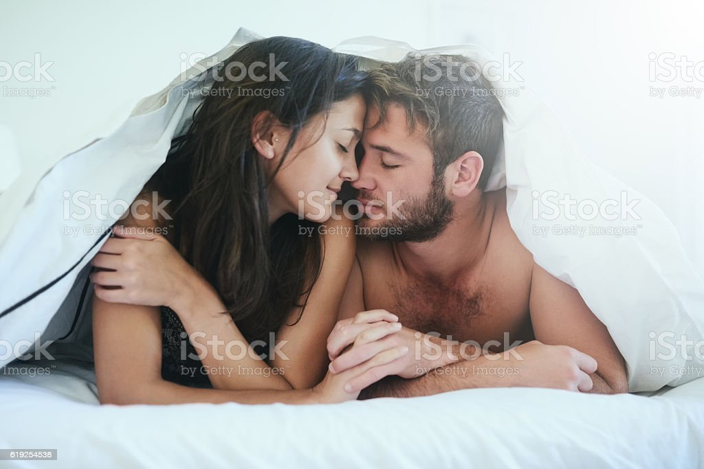 I am more in love with you than ever stock photo