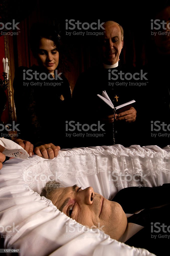 I am not dead !!! royalty-free stock photo