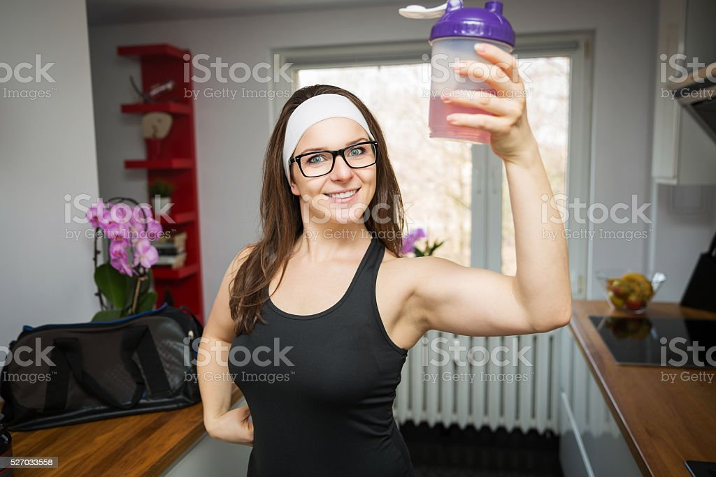 I am strong stock photo