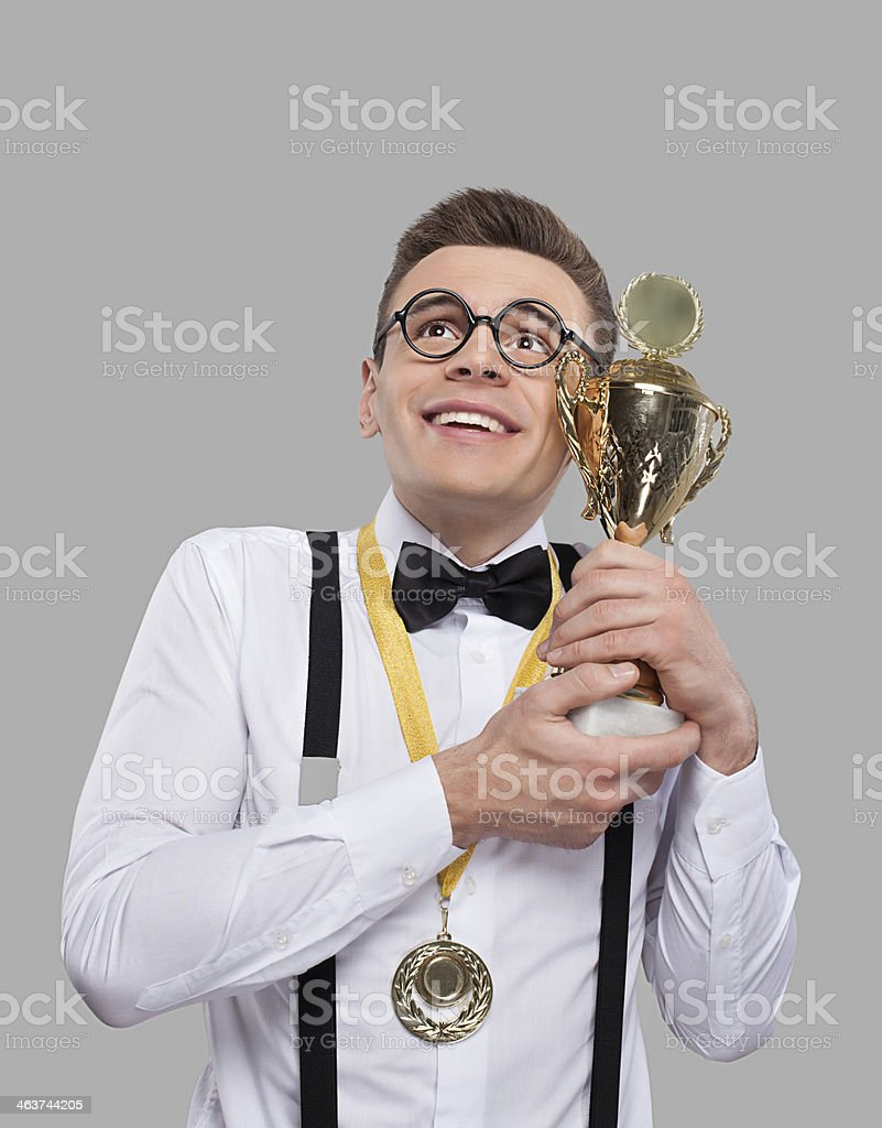 I am the best! stock photo