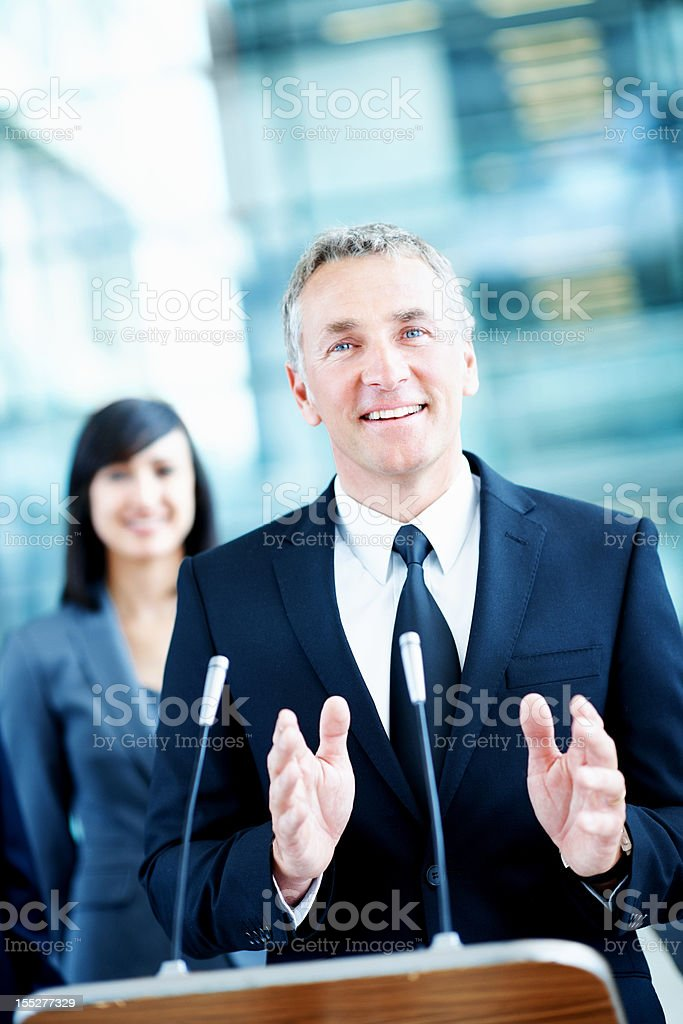 I am the senator you need royalty-free stock photo