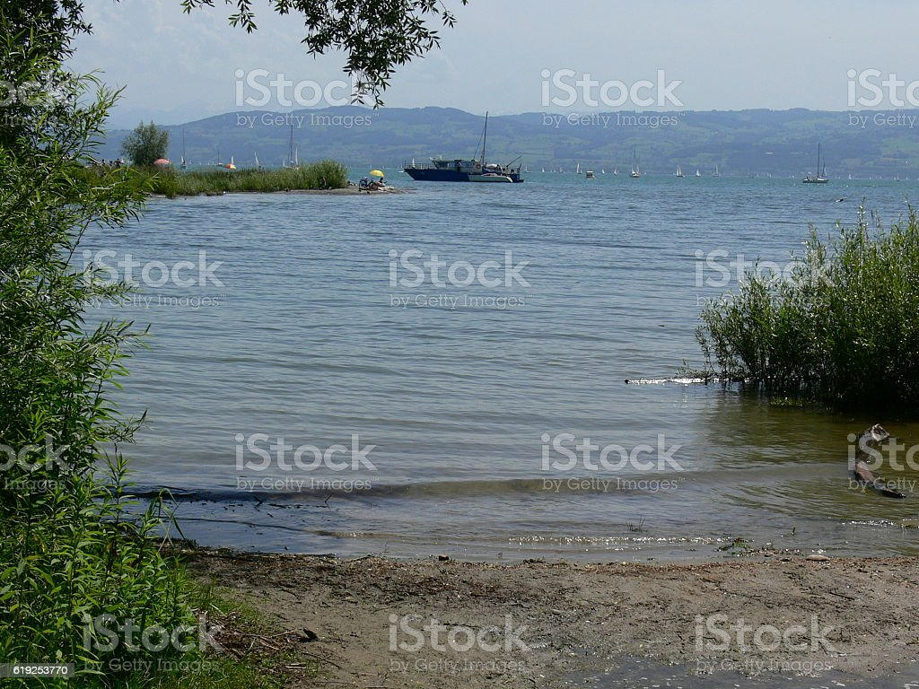 Am Ufer des Boidensees 1 stock photo