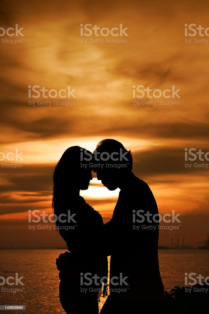 I Am With You royalty-free stock photo