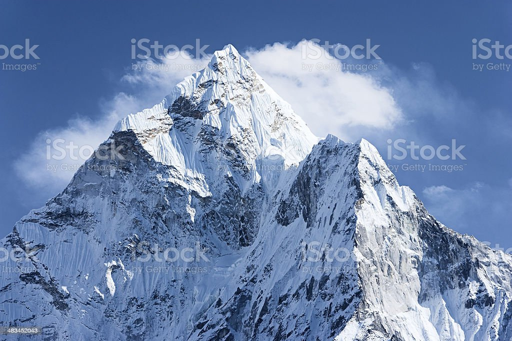 Ama Dablam - Himalaya Range stock photo