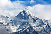Ama Dablam Mount in the Nepal Himalaya