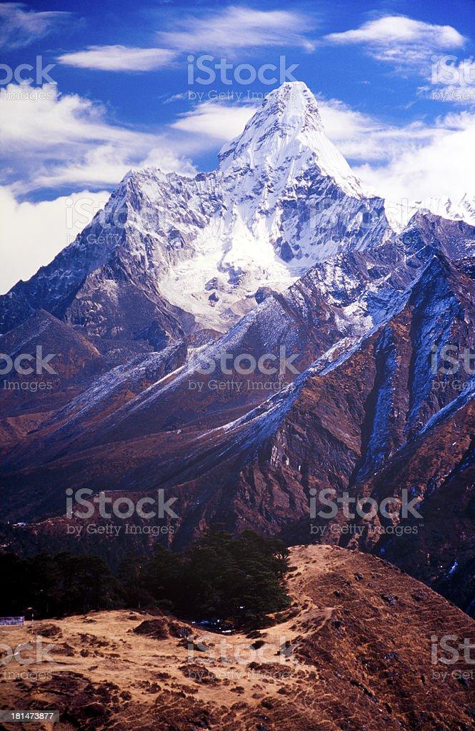 Ama Dablam, Nepal Himalaya royalty-free stock photo