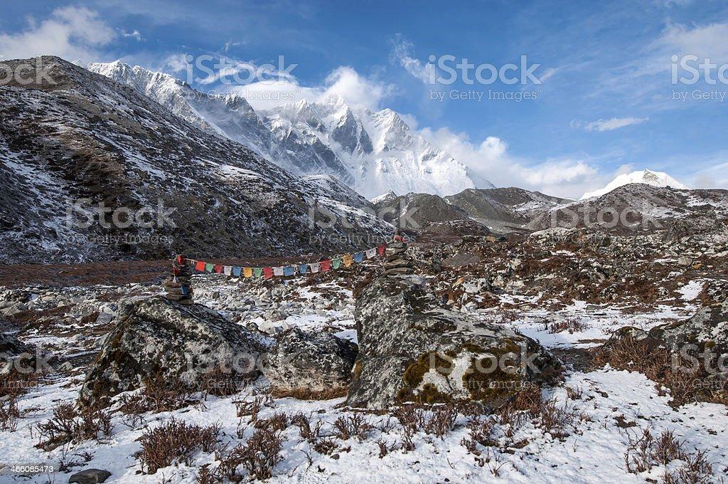 Ama Dablam. Nepal royalty-free stock photo