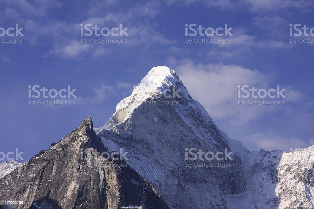 ama dablam peak royalty-free stock photo