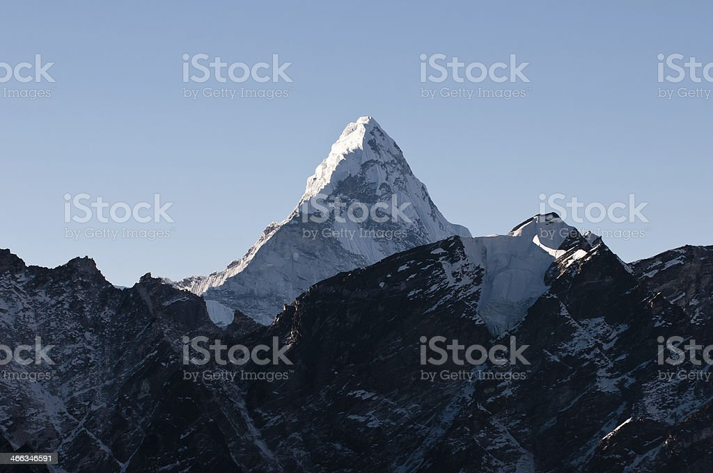 Ama Dablam royalty-free stock photo