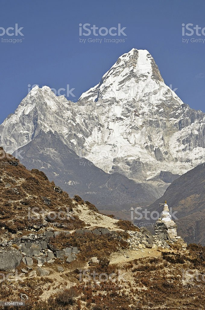 Ama Dablam stock photo