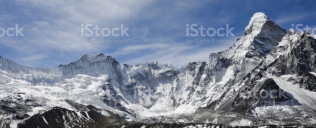 Ama Dablam Ridge royalty-free stock photo