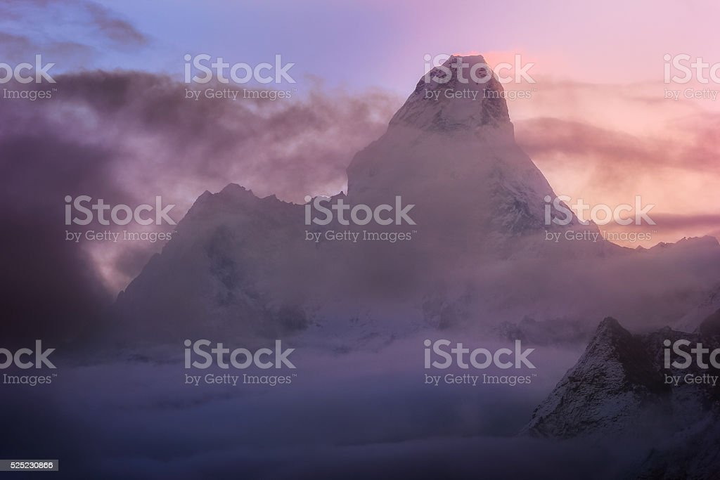 Ama-Dablam stock photo