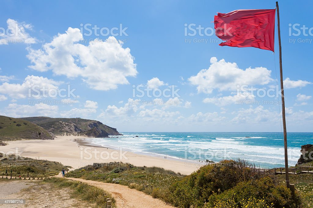 Praia do Amado stock photo