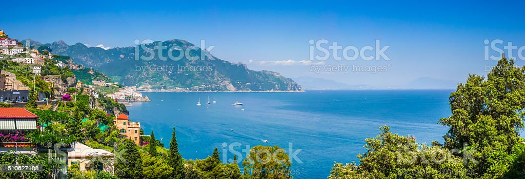 Amalfi Coast, Campania, Italy stock photo