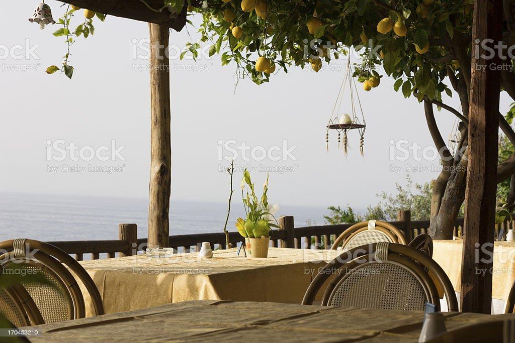 Amalfi Coast in Campania, Italy royalty-free stock photo