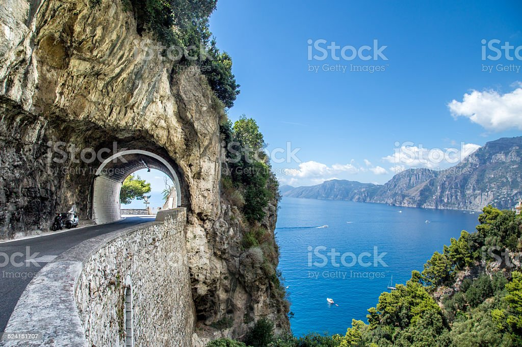Amalfi Coast, Italy. stock photo