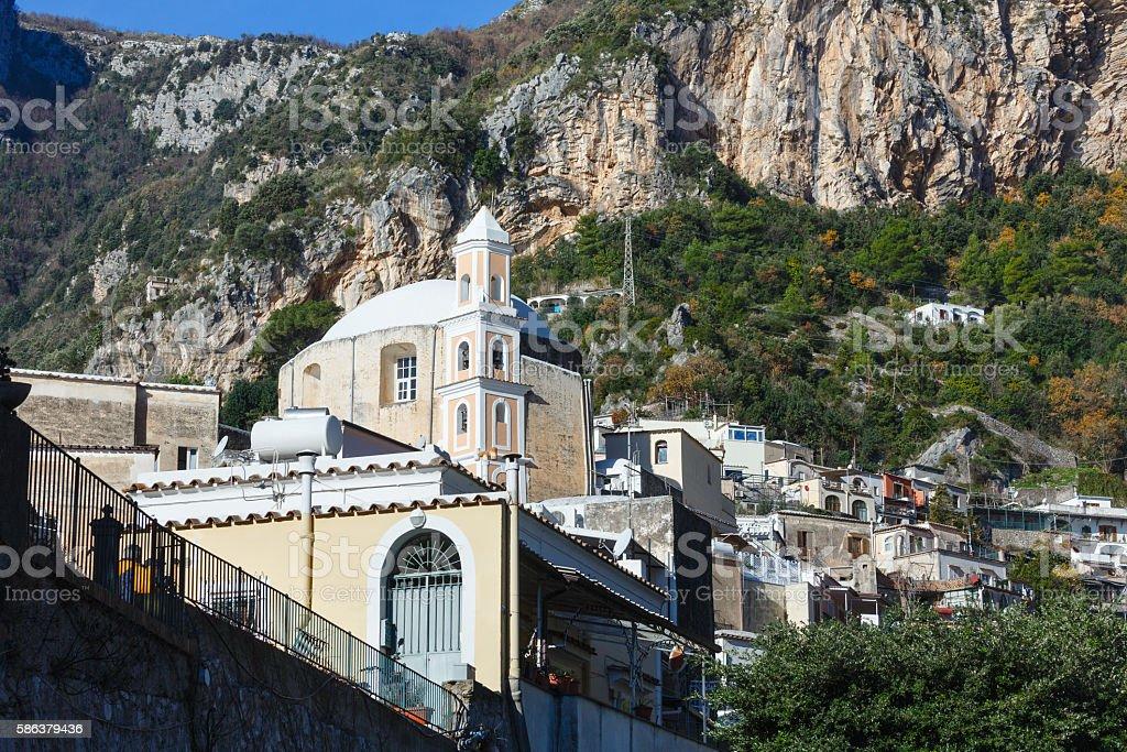 Amalfi Coast, Italy. stock photo