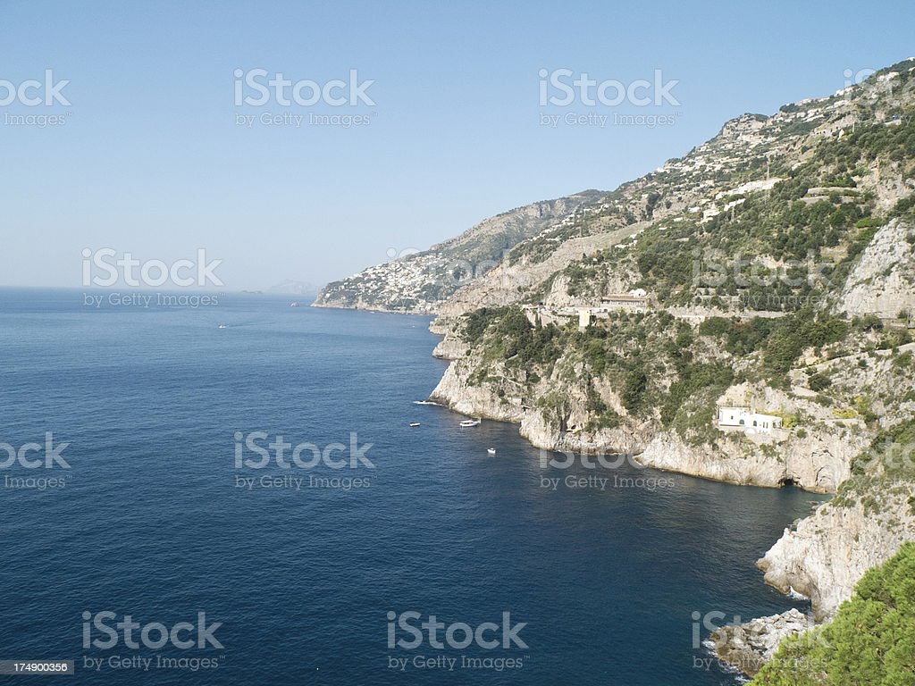 Amalfi coast royalty-free stock photo