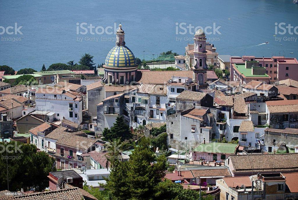Amalfi Coast, Vietri sul mare royalty-free stock photo