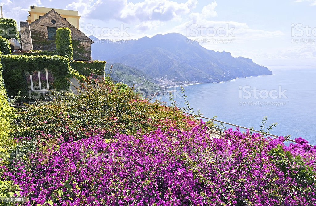 Amalfi Coast Vistas stock photo
