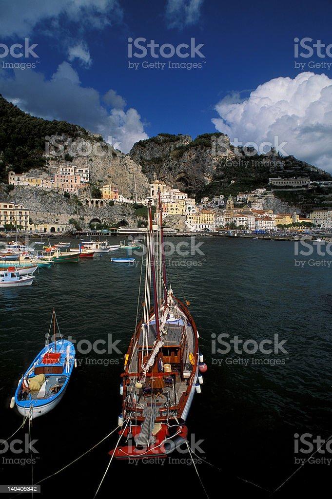 Amalfi view royalty-free stock photo