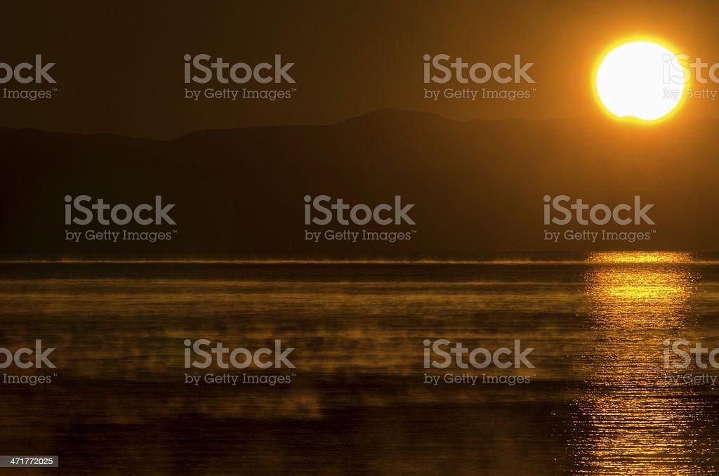 Amanecer en Patagonia royalty-free stock photo