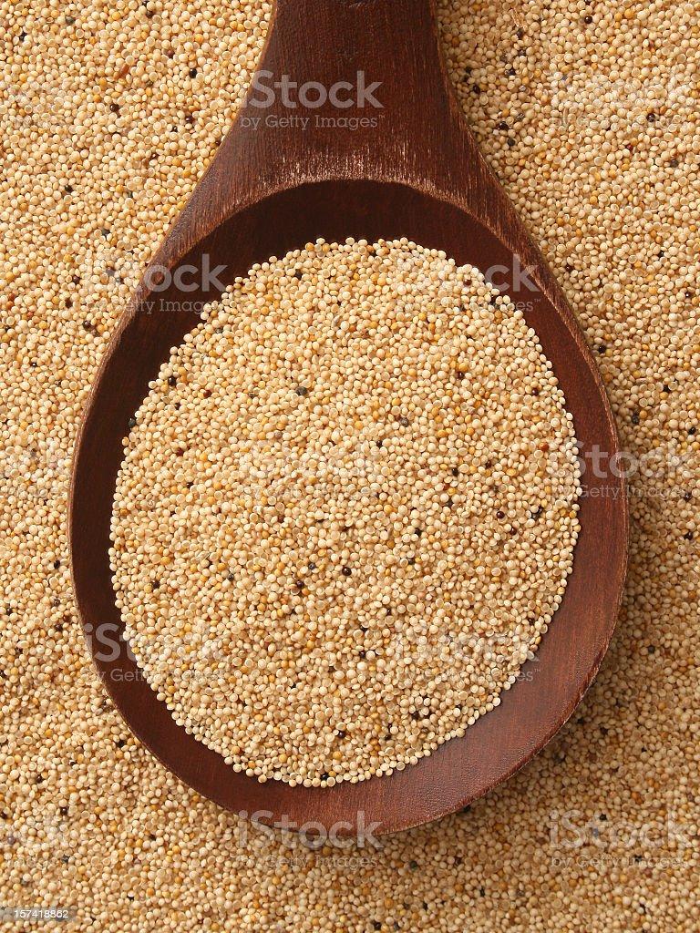 Amaranth seeds stock photo